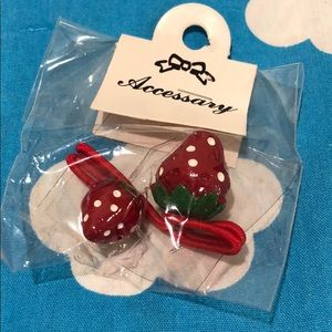 Other - Strawberries hair bands